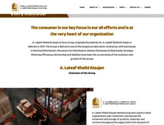 alaujan.com.bh screenshot