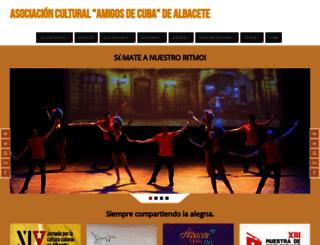 albaceteporcuba.com screenshot