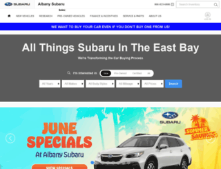 albanyfordsubaru.com screenshot