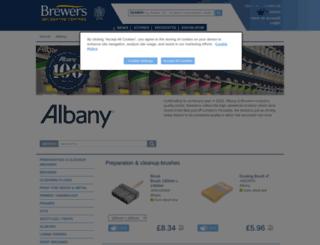 albanypaint.co.uk screenshot