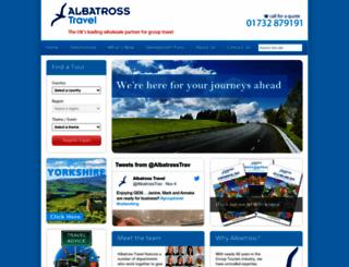 albatrosstravel.com screenshot