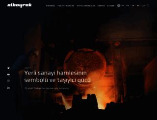 albayrak.com.tr screenshot