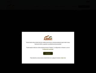 alberguesdelcamino.com screenshot