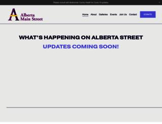 albertamainst.org screenshot