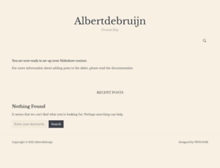 albertdebruijn.com screenshot