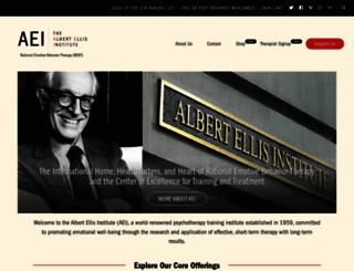 albertellis.org screenshot