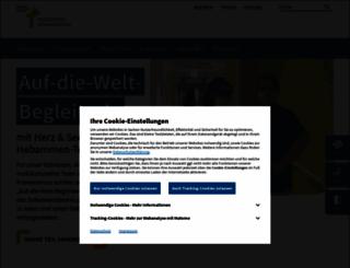 albertinen.de screenshot