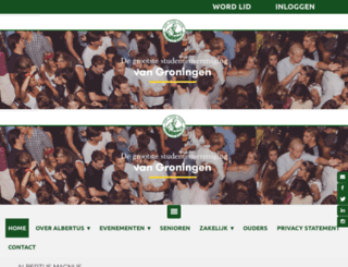 albertus.nl screenshot