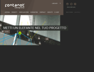 albiniefontanot.com screenshot