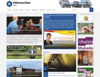 alblasserdam.net screenshot