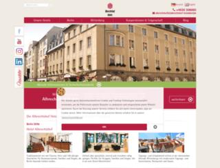 albrechtshof-hotels.com screenshot