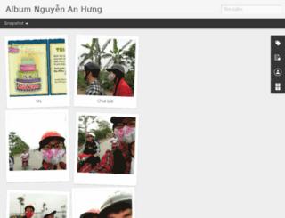 album.nguyenanhung.com screenshot