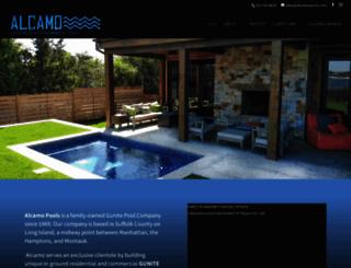 alcamopools.com screenshot