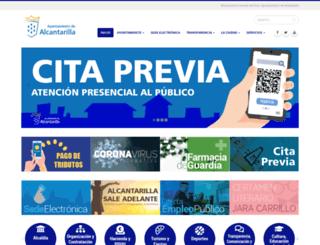 alcantarilla.es screenshot