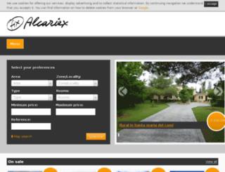 alcariex.com screenshot