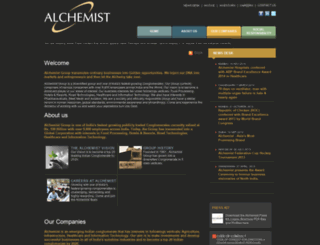 alchemist.co.in screenshot