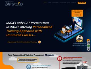 alchemistindia.com screenshot