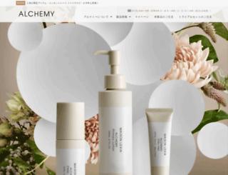alchemy-web.jp screenshot