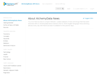 alchemyapi.readme.io screenshot