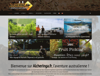 alcheringa.fr screenshot