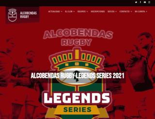 alcobendasrugby.com screenshot