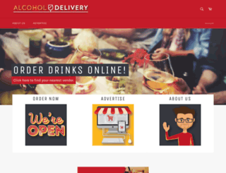 alcohol-delivery.co screenshot