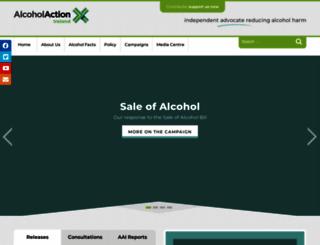 alcoholireland.ie screenshot