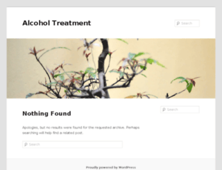 alcoholtreatment.co.za screenshot