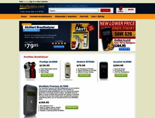 alcotesters.com screenshot