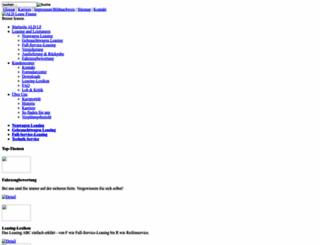 ald-leasefinanz.de screenshot