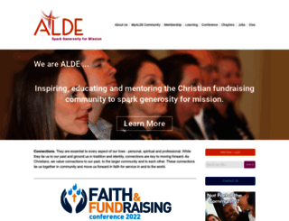 alde.org screenshot