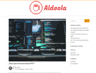 aldeola.es screenshot