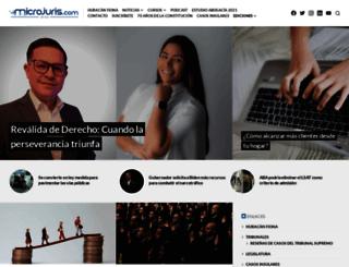 aldia.microjuris.com screenshot