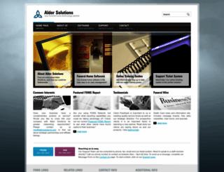aldorsolutions.com screenshot