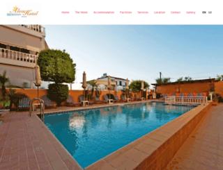 aleahotel.gr screenshot