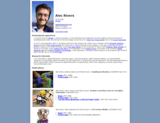 alecrivers.com screenshot
