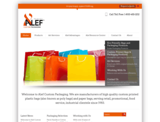 alefcustom.com screenshot