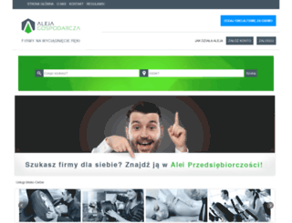 alejagospodarcza.pl screenshot