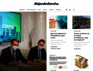 alejandrosancho.com screenshot