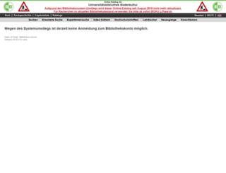 aleph22-prod-uni.obvsg.at screenshot