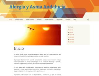 alergiayasma.es screenshot