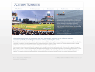 alerionpartners.com screenshot