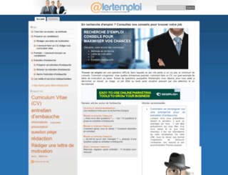 alertemploi.fr screenshot