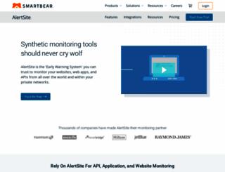 alertsite.com screenshot