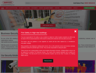 alertsystems.co.uk screenshot