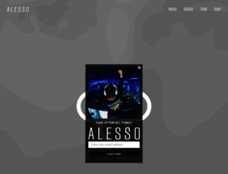 alessoworld.com screenshot