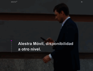alestra.com.mx screenshot