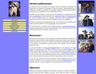 alexander-ehrlich.com screenshot