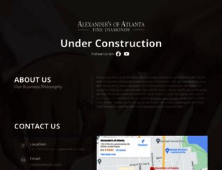 alexandersofatlanta.com screenshot