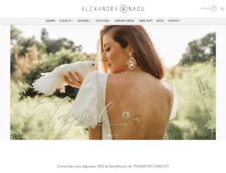 alexandranacujewelry.com screenshot